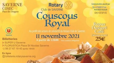 Venez nombreux déguster le premier Couscous du Rotary Club de Saverne